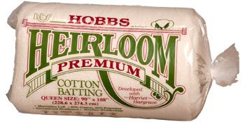 Heirloom Premium Blend Batting Crib Hobbs