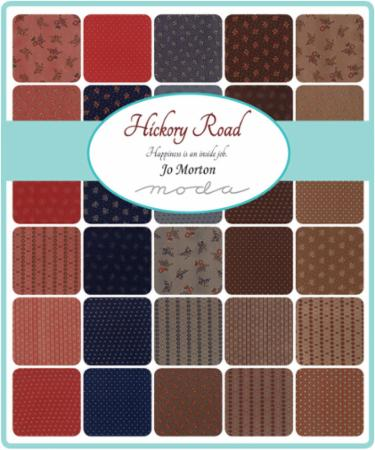 Moda Jelly Roll - Hickory Road by Jo Morton