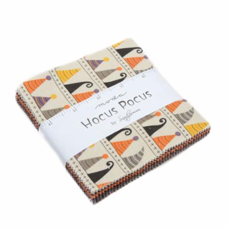 Moda Charm Pack - Hocus Pocus by Sandy Gervais