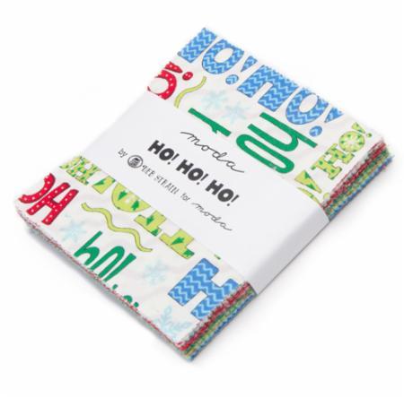 Moda Charm Pack - Ho Ho Ho by Deb Strain