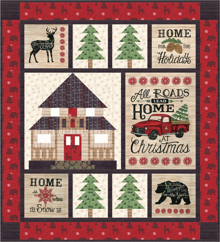 May/19 - Holiday Lodge Quilt Kit