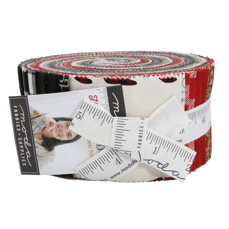 Moda Jelly Roll - Holiday Lodge by Deb Strain