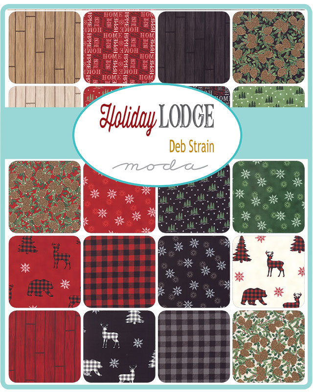 May/19 - Holiday Lodge Charm Pack