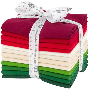 Robert Kaufman Fat Quarter Bundle - Holiday Palette