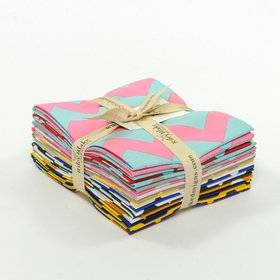 Riley Blake Fat Quarter Bundle - Holiday & School FLANNEL Chevron