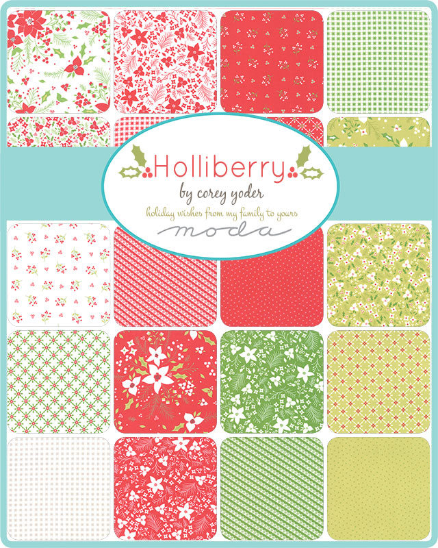 July/20 - Holliberry Charm Pack