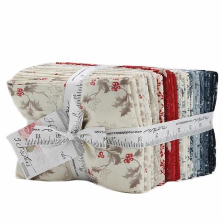 Moda Fat Quarter Bundle - Holly Woods by 3 Sisters