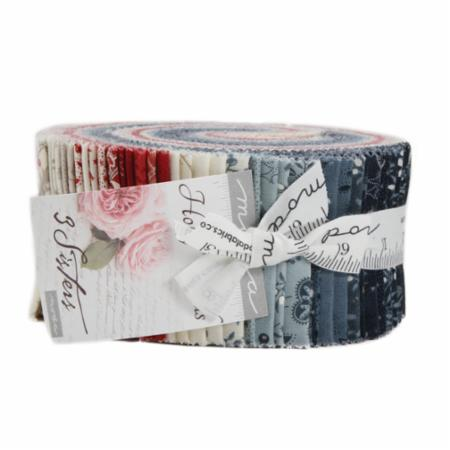 Moda Jelly Roll - Holly Woods by 3 Sisters