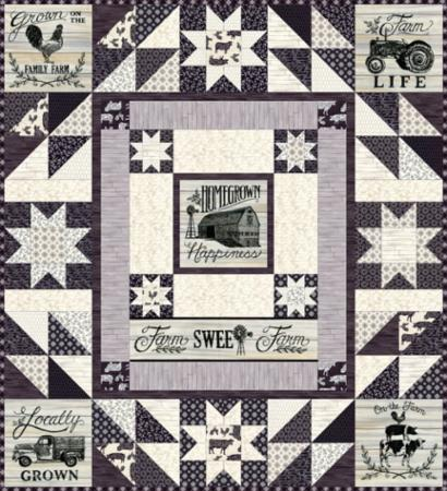 Moda Quilt Kit - Homegrown by Deb Strain