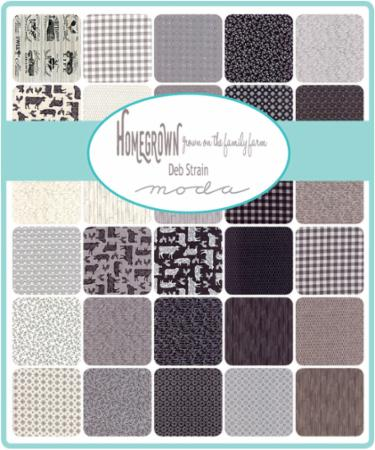 Moda Fat Quarter Bundle - Homegrown by Deb Strain