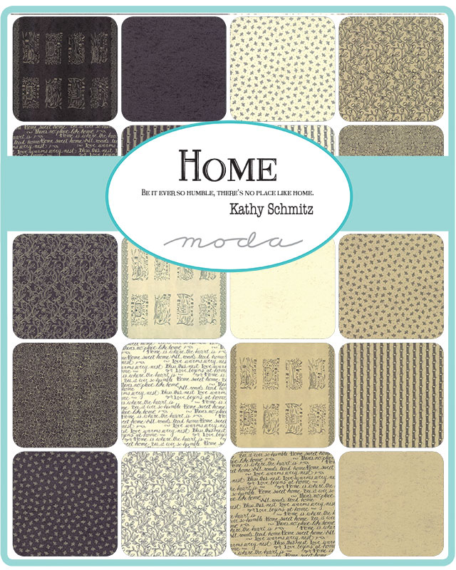 Moda Fat Quarter Bundle - Home by Kathy Schmitz