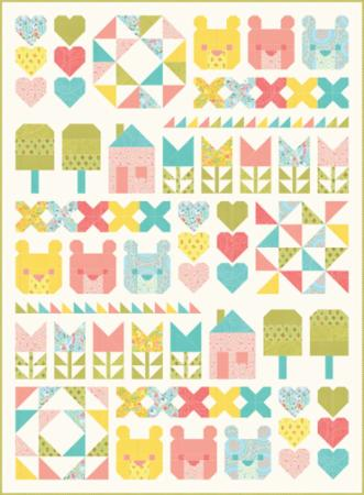 Moda Quilt Kit - Home Sweet Home by Stacy Iest Hsu
