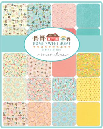 Moda Layer Cake - Home Sweet Home by Stacy Iest Hsu