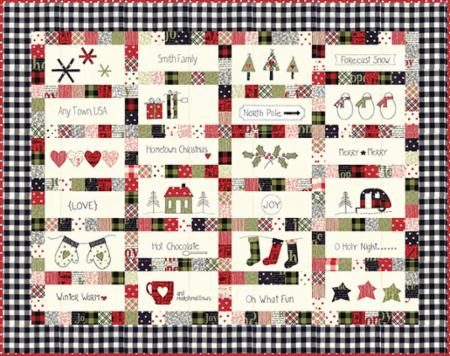 Hometown Christmas Pattern