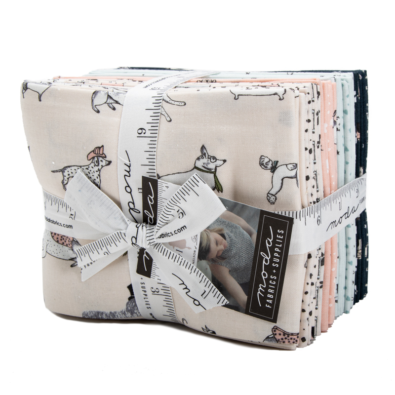 Moda Fat Quarter Bundle - Howl Hound by Lydia Nelson