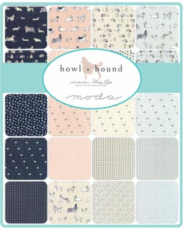 Nov/18 - Howl Hound Fat Quarter Bundle