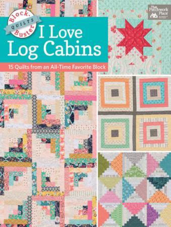 I Love Log Cabins Book