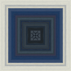 Moda Quilt Kit - Indigo Gatherings by Primitive Gatherings