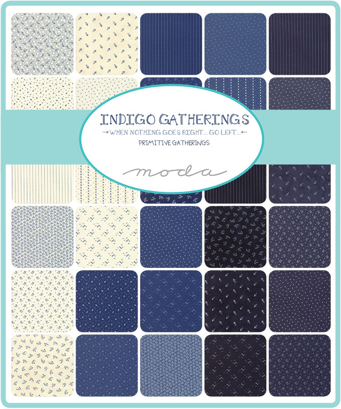 Jan/20 - Indigo Gatherings Charm Pack
