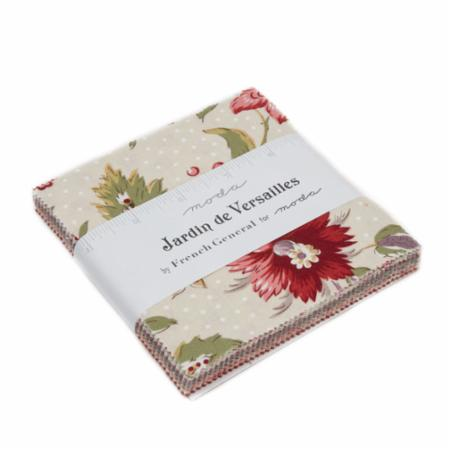 Moda Charm Pack - Jardin De Versaille by French General
