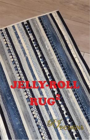 Jelly Roll Rug TWO Pattern