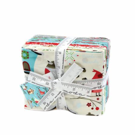 Moda Fat Quarter Bundle - Jingle Birds by Keiki