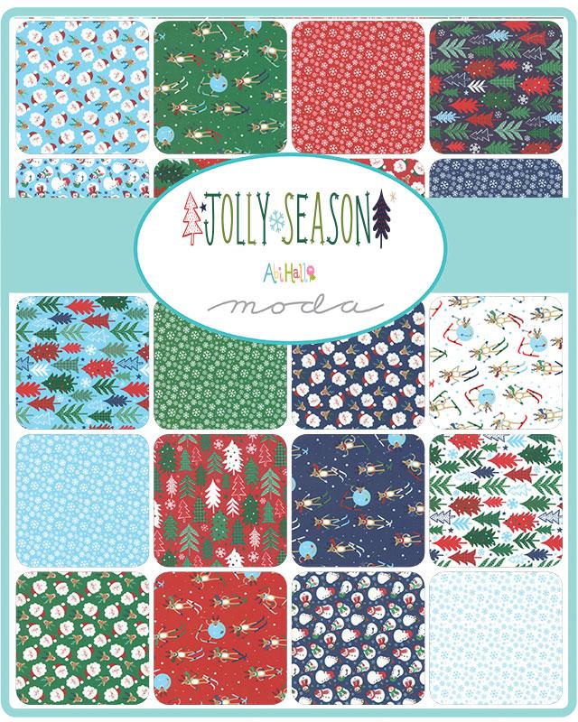 May/20 - Jolly Season Charm Pack