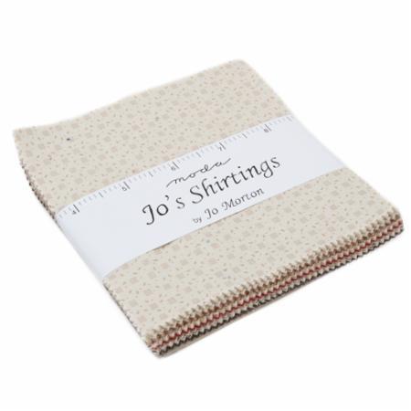 Moda Charm Pack - Jo's Shirtings by Jo Morton