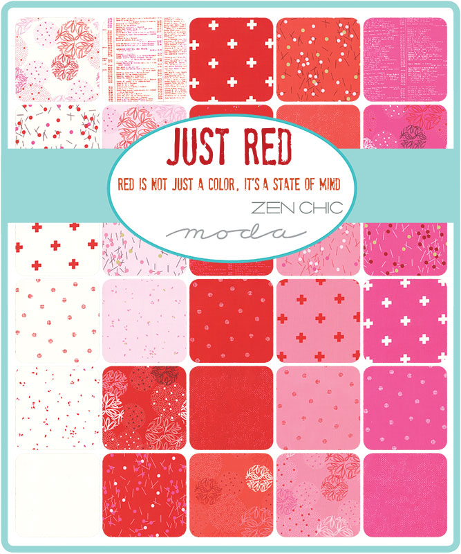Jan/20 - Just Red Charm Pack