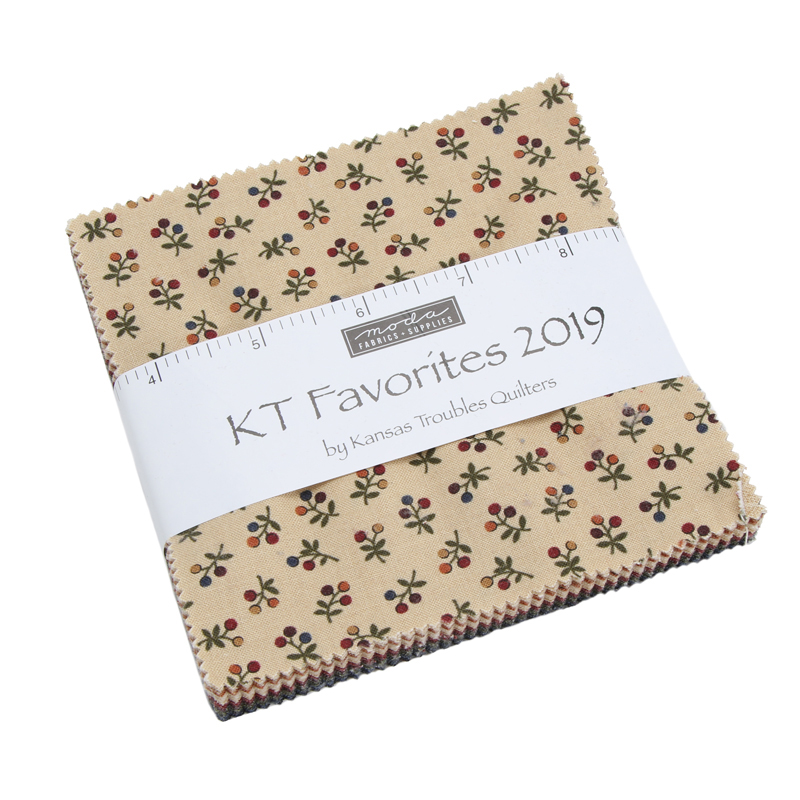 Moda Charm Pack - Kansas Troubles Favorites 2019 by Kansas Troubles
