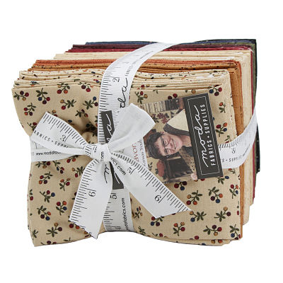 Moda Fat Quarter Bundle - Kansas Troubles Favorites 2019 by Kansas Troubles