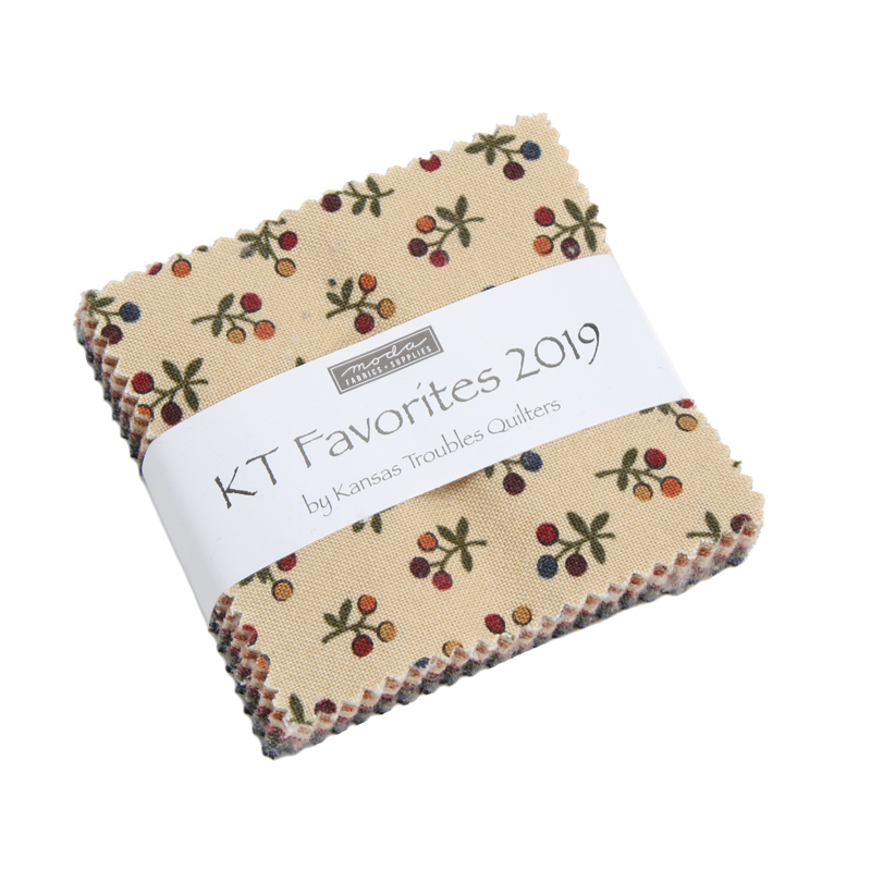 Moda Mini Charm - Kansas Troubles Favorites 2019 by Kansas Troubles