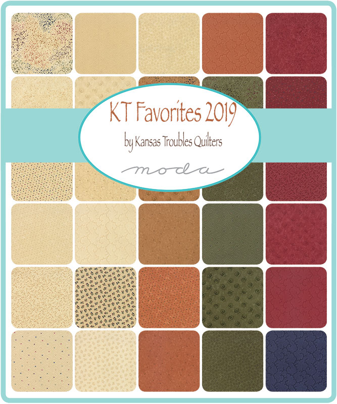 May/19 - Kansas Troubles Favorites 2019 Charm Pack