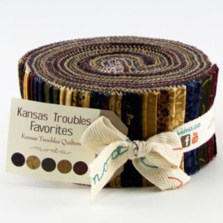 Moda Jelly Roll - Kansas Troubles Favorites