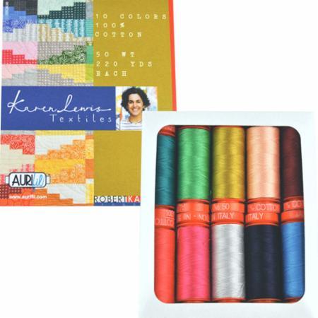 Karen Lewis Textiles 50wt Aurifil 10 Small Spools