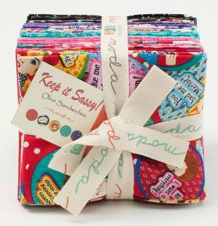 Moda Fat Quarter Bundle - Keep It Sassy by Olive Sandwiches