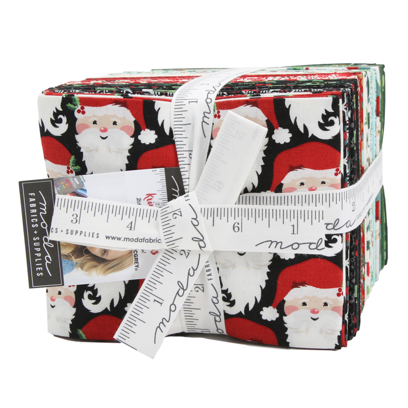 Moda Fat Quarter Bundle - Kringle & Claus by Basic Grey