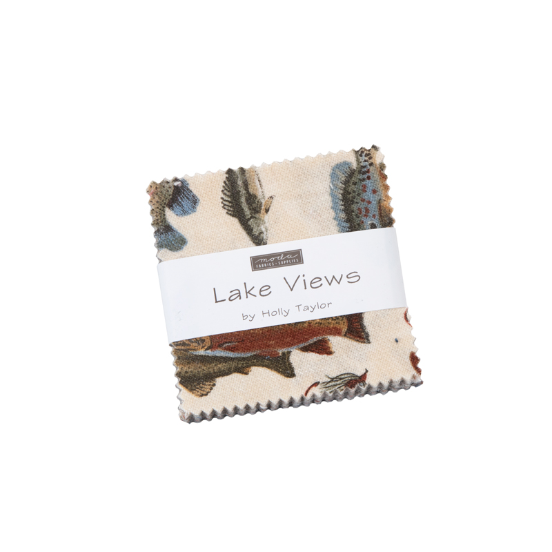Moda Mini Charm - Lake Views by Holly Taylor