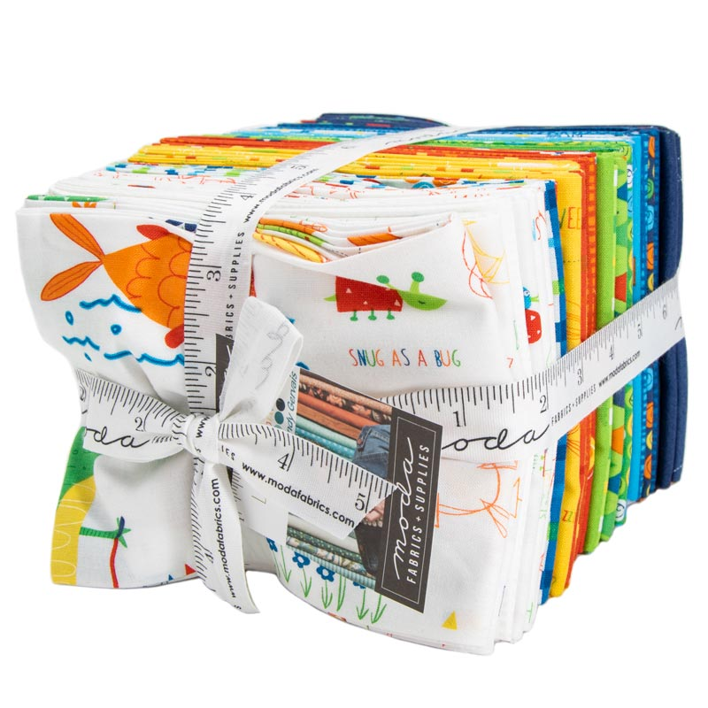 Moda Fat Quarter Bundle - Later Alligator by Sandy Gervais
