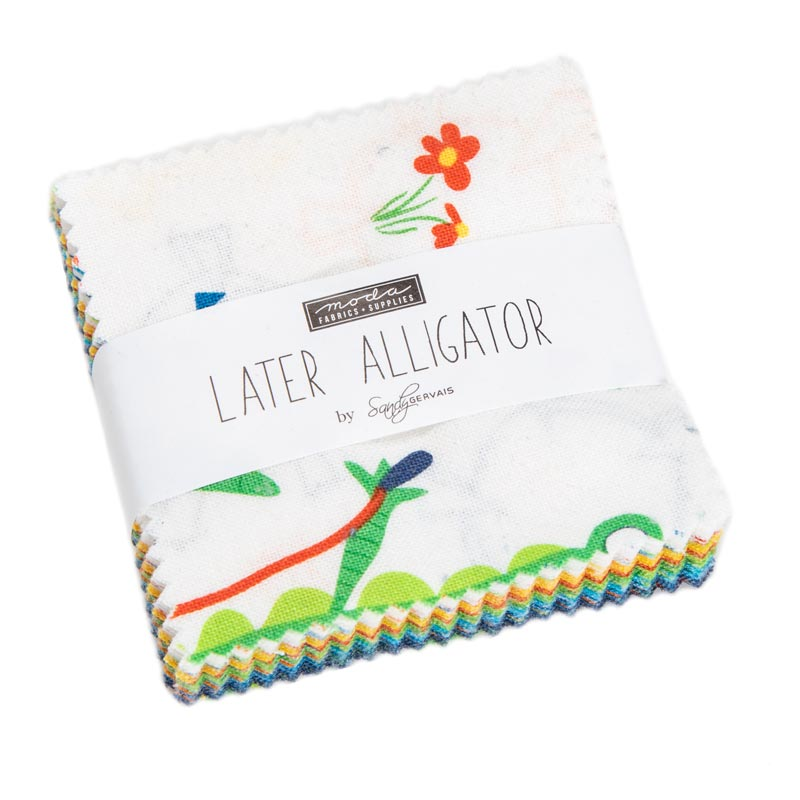 Moda Mini Charm - Later Alligator by Sandy Gervais
