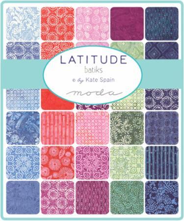 Moda Layer Cake - Latitude Batiks by Kate Spain