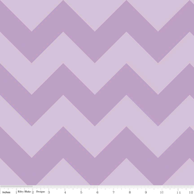 Large Chevron Lavendar Riley Blake Yardage