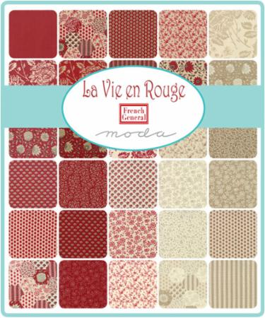 August/18 - La Vie En Rouge Charm Pack