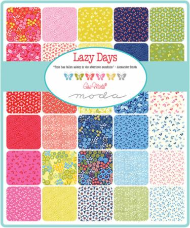 Moda Fat Quarter Bundle - Lazy Days by Gina Martin