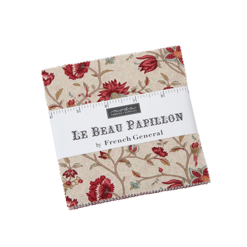 Moda Charm Pack - Le Beau Papillon by French General