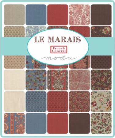Moda Mini Charm - Le Marais by French General
