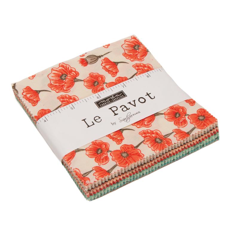 Moda Charm Pack - Le Pavot by Sandy Gervais