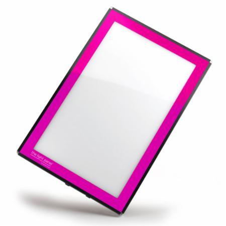 Light Panel LED 8x11 Pink Frame