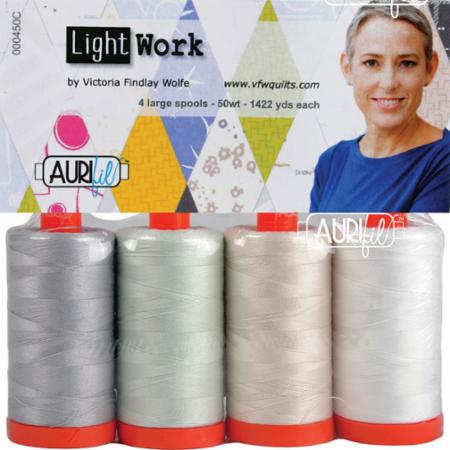 Lightwork Collection 50wt Aurifil