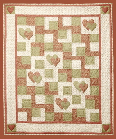 Liliana's Heart Quilt Pattern